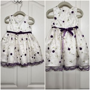 Sweet Heart Rose toddler dress